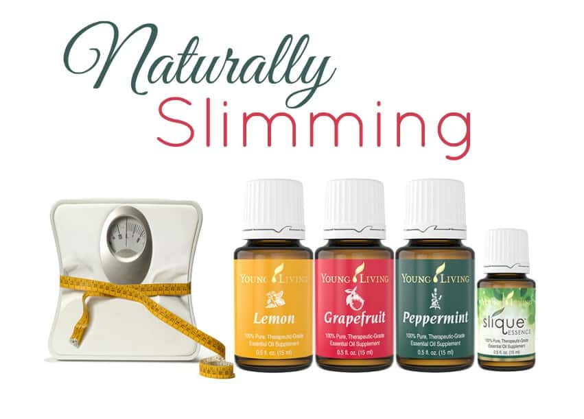 Slim Down Naturally With Essential Oils
