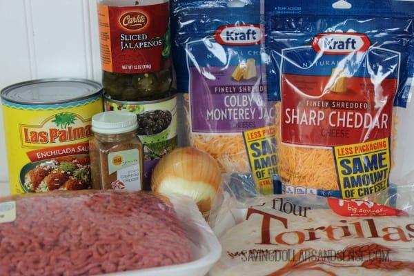 beef enchiladas ingredients