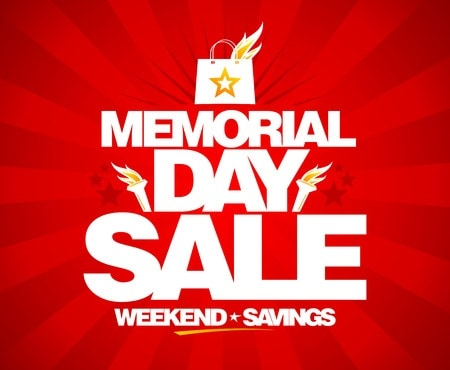 Memorial Day sale with the best coupon codes and deals.