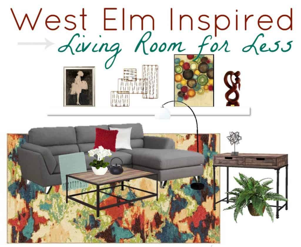West Elm Inspired Room Look for Less