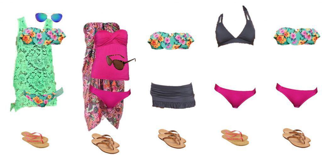 Target Mix & Match Swimsuit Wardrobe