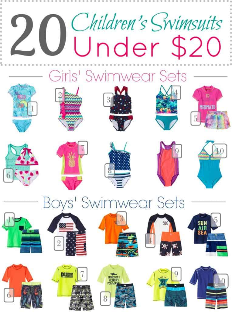 5.18 Children's Swimwear Under 20 Round Up VERTICAL