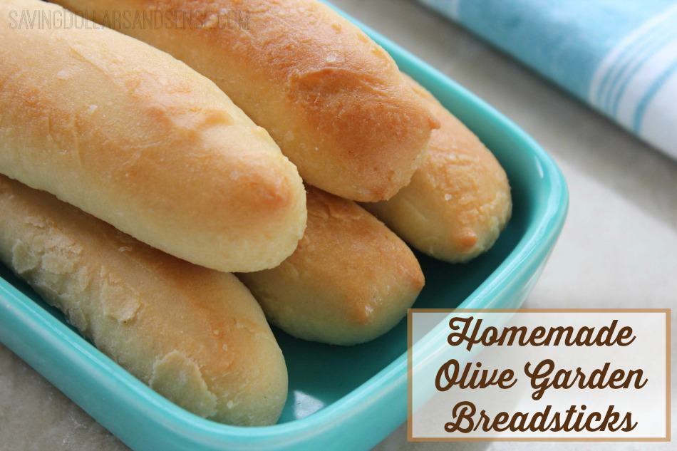 Homemade Olive Garden Breadstick Recipe