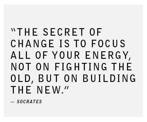 A motivational quote by Socrates about changing ourselves.