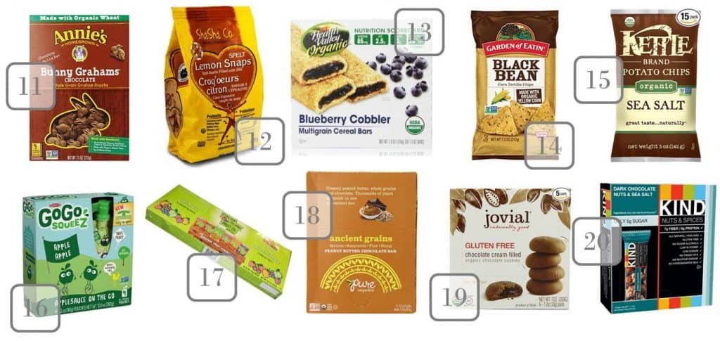 6.10 Amazon Organic Snacks Round Up 11-20