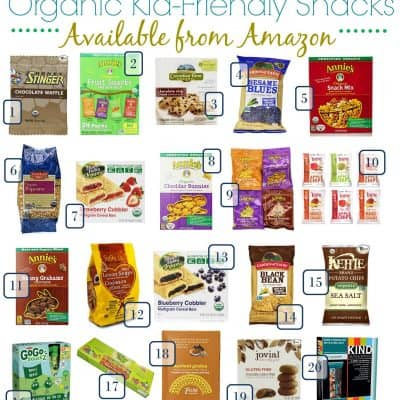 6.10 Amazon Organic Snacks Round Up VERTICAL