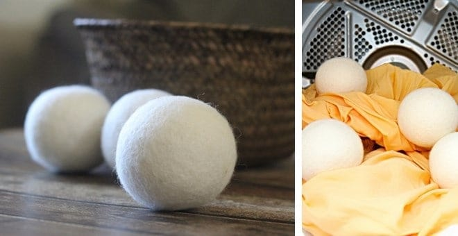 Wool and Dryer ball