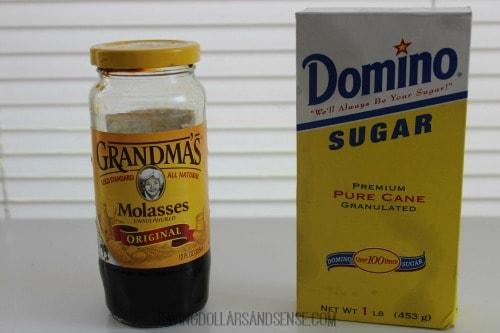Brown Sugar Ingredients