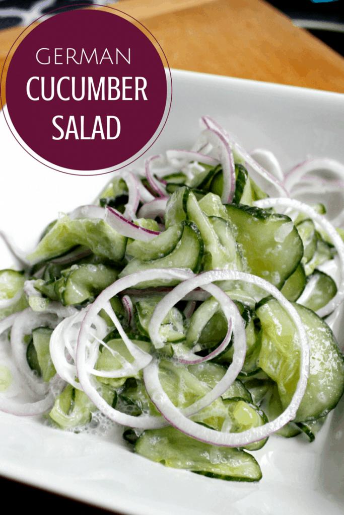 German-Cucumber-Salad