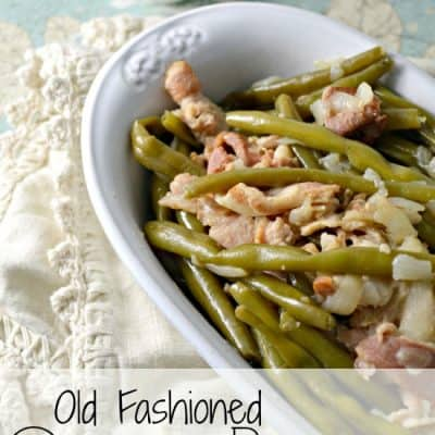 Old Fashioned Green Beans
