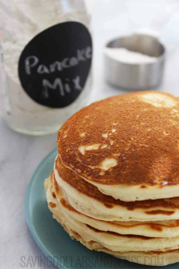 Homemade pancake mix.