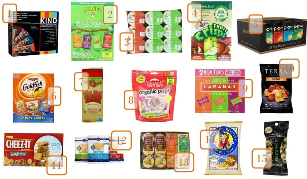 7.10 Amazon Back to School Snacks COLLAGE