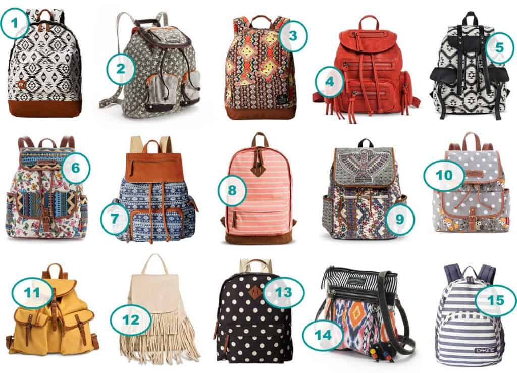 15 Stylish Girls' Backpacks Under $30 - Saving Dollars & Sense