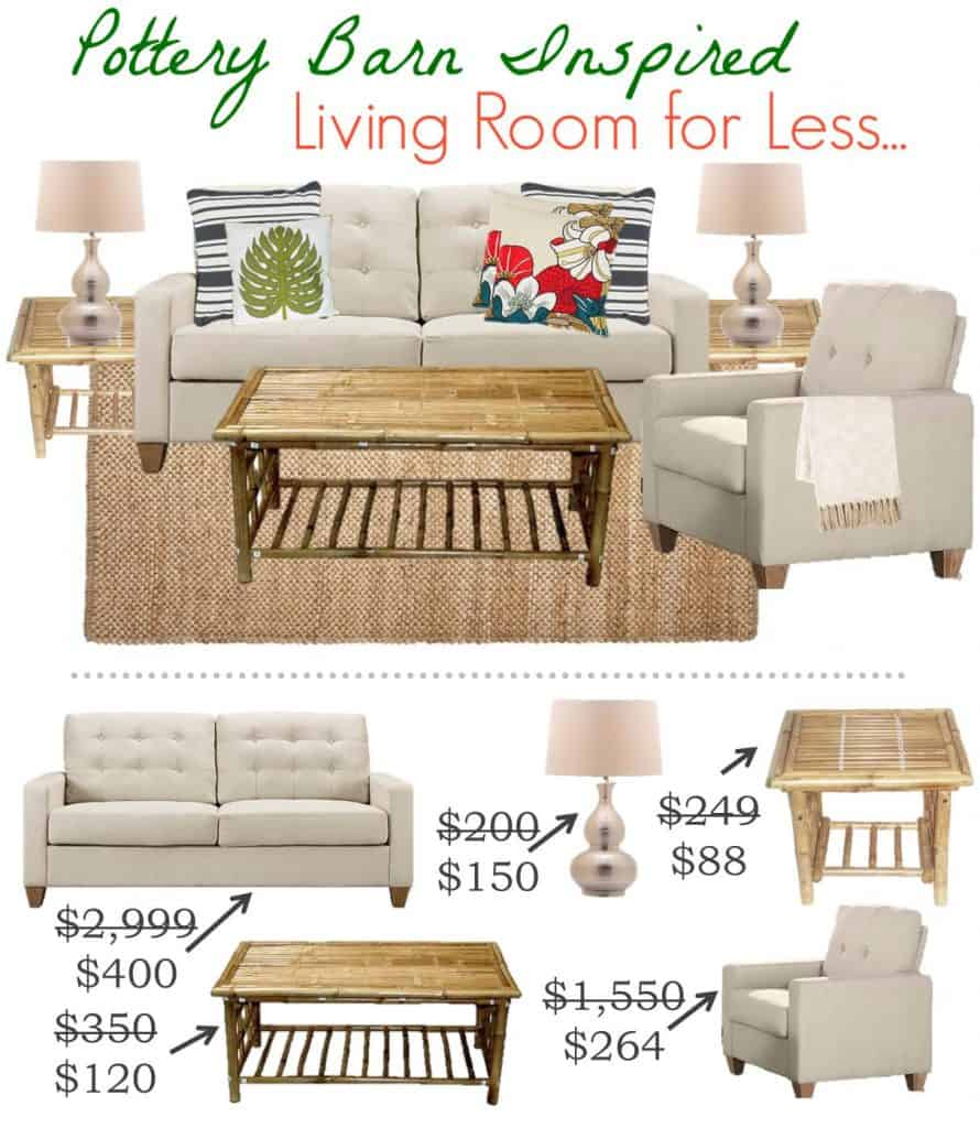 ... 7.6 Pottery Barn Living Room For Less VERTICAL