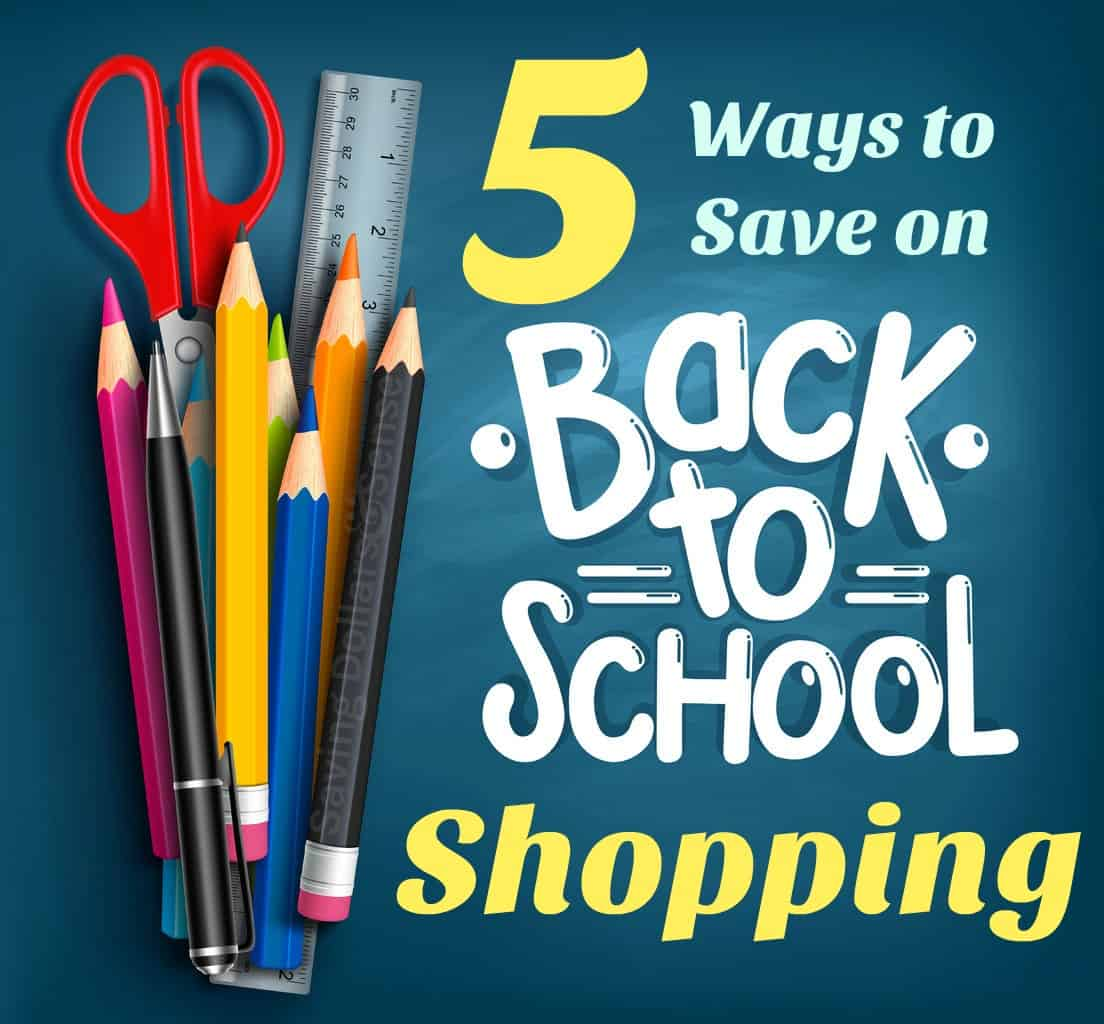 ways to save back to school