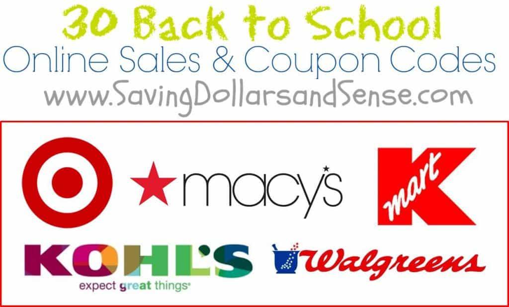 8.4 Round Up Back to School Sales and Savings SAVINGDOLLARSSENSE