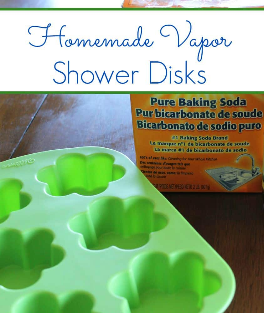 Homemade Vapor Shower Disks