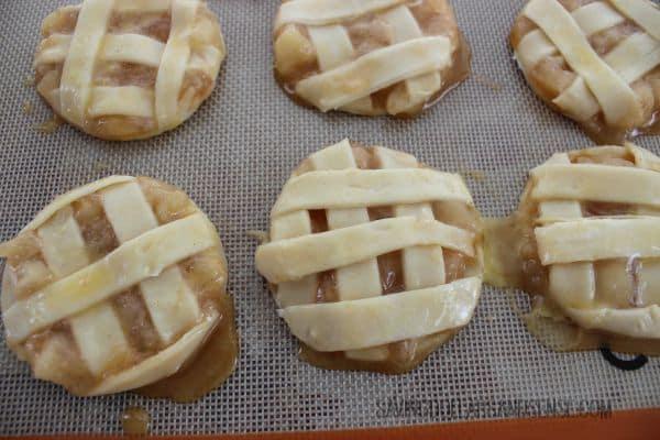 apple pie cookie process