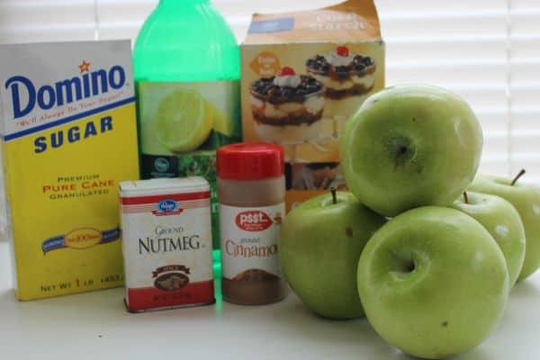 apple pie filling ingredients