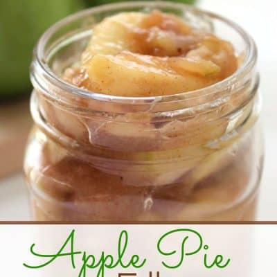 Apple Pie Filling