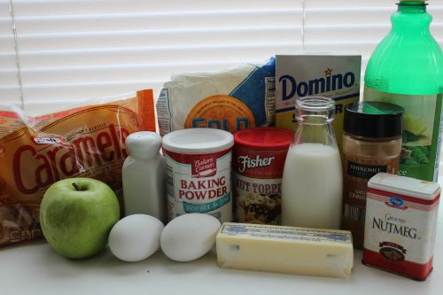 caramel apple donut ingredients