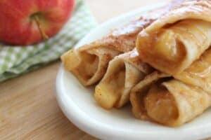 Caramel Apple Taquitos Recipe