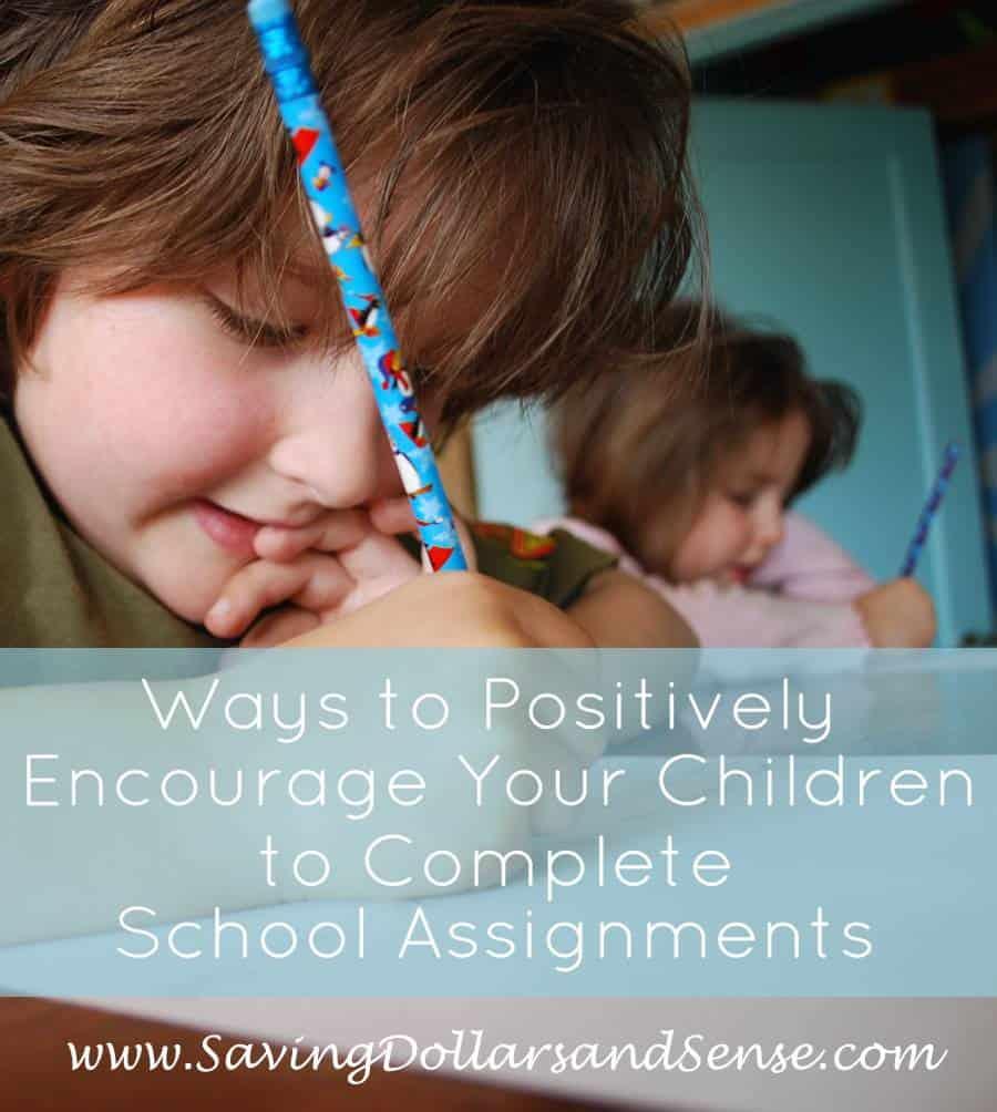 Ways to Motivate Kids to Finish School Work