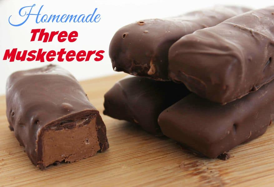 Homemade three musketeers