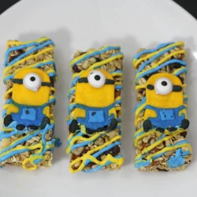 Minions Granola Bars