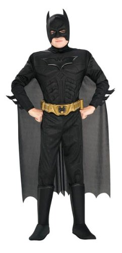 Batman costume for Halloween.
