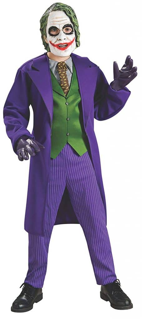 The Joker Halloween costume.