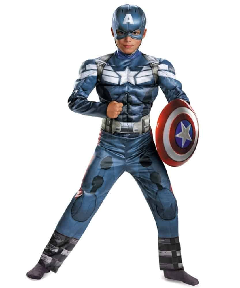 Youth Captain America costume.