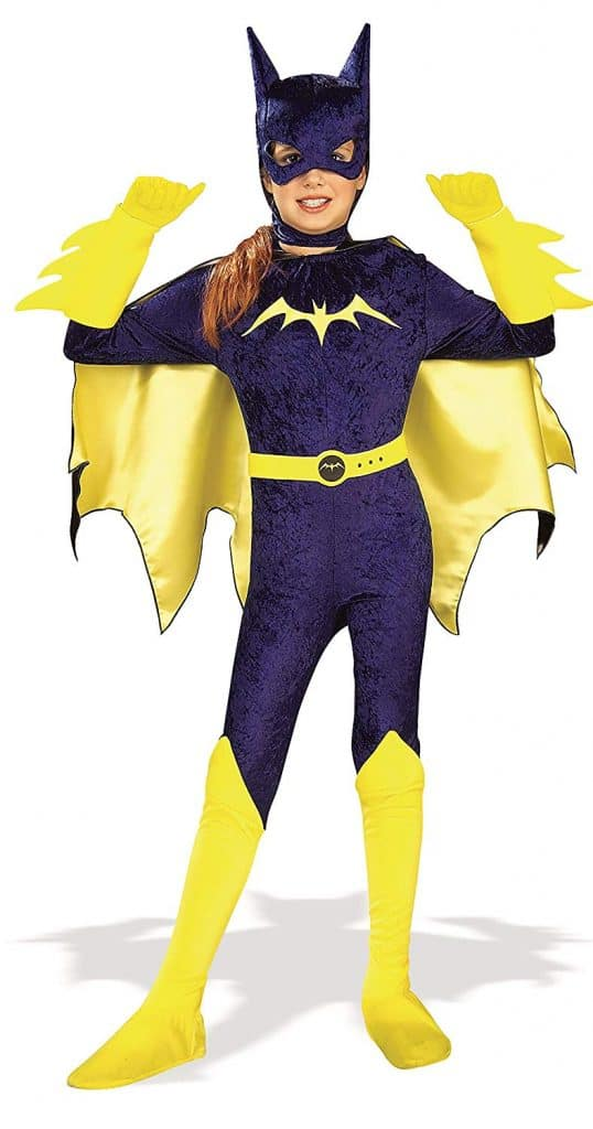 Classic Batgirl Halloween costume.