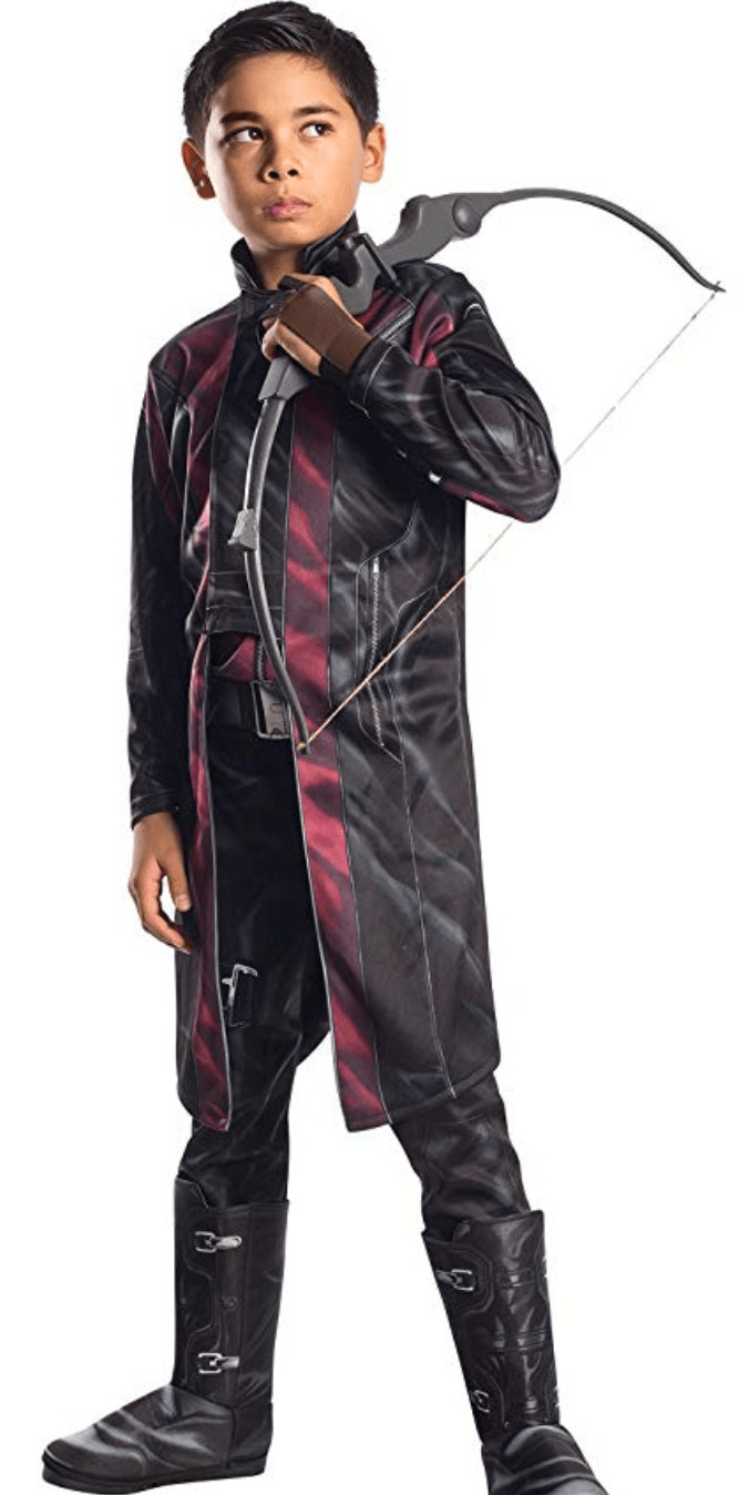 Hawkeye costume for Halloween.