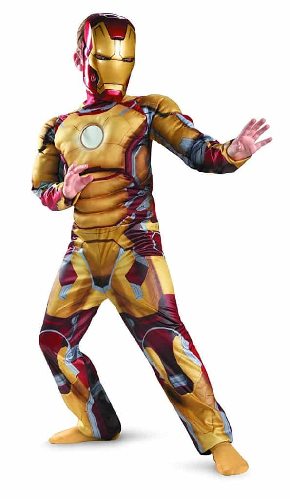 Iron Man Youth Halloween costume.