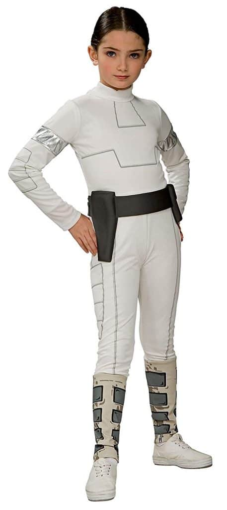 Padme Amidala girls Halloween costume.
