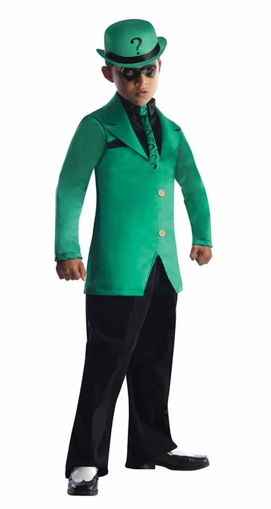 The Riddler Halloween costume.