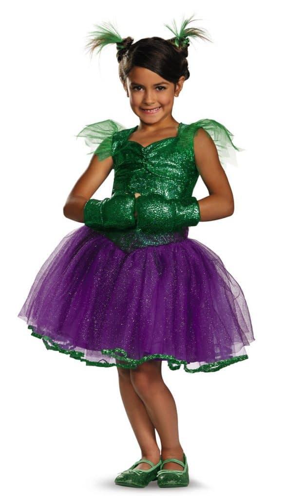 She Hulk youth Halloween costume.