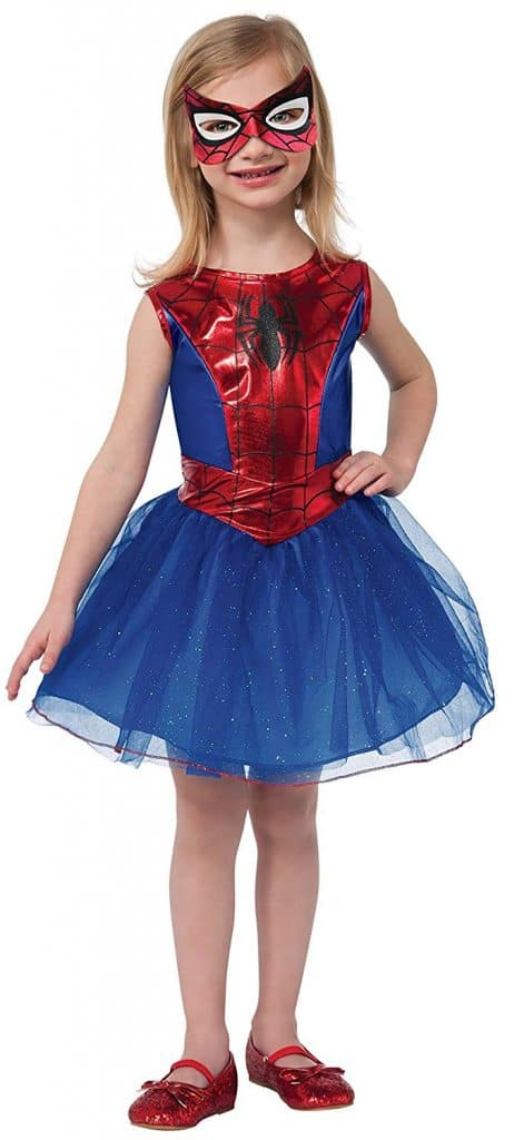 Spider girl Halloween costume.