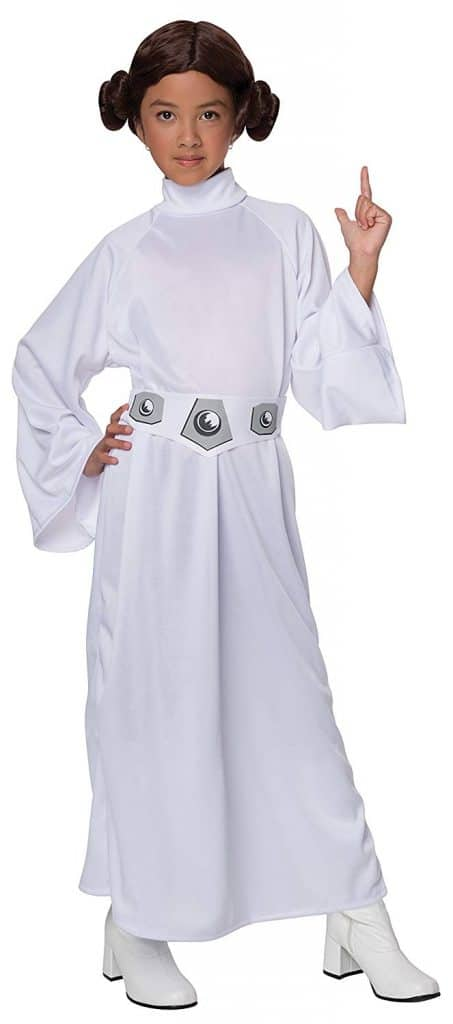 Star Wars Princess Leia girls Halloween costume.