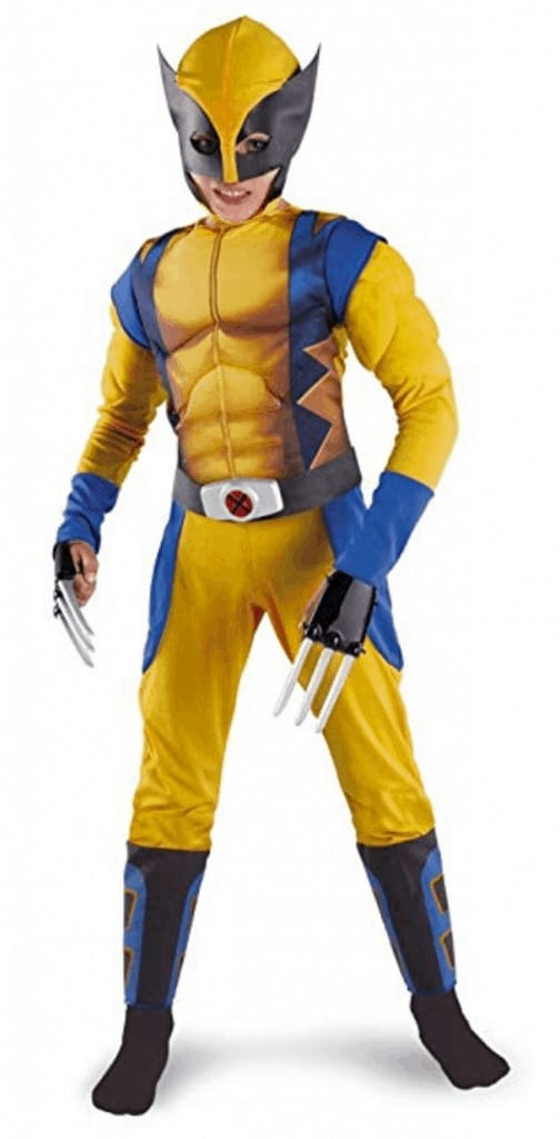 Wolverine Halloween costume.