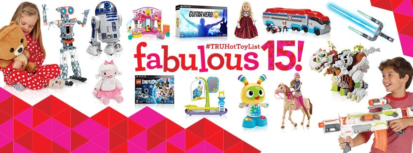 TRUHot Toy List for this years Christmas season.