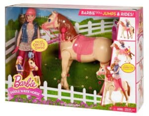Barbie Saddle 'N Ride Horse Review