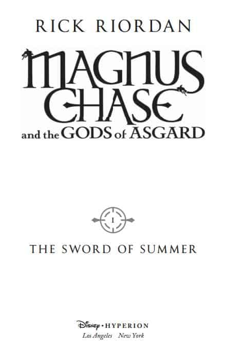 New MAGNUS CHASE Chapters 1-5 FREE