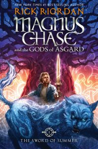 Magnus Chase and The Gods of Asgard teen novel.