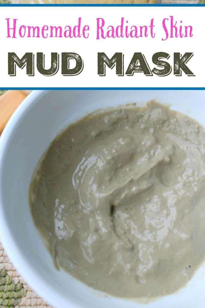 homemade radiant skin mud mask