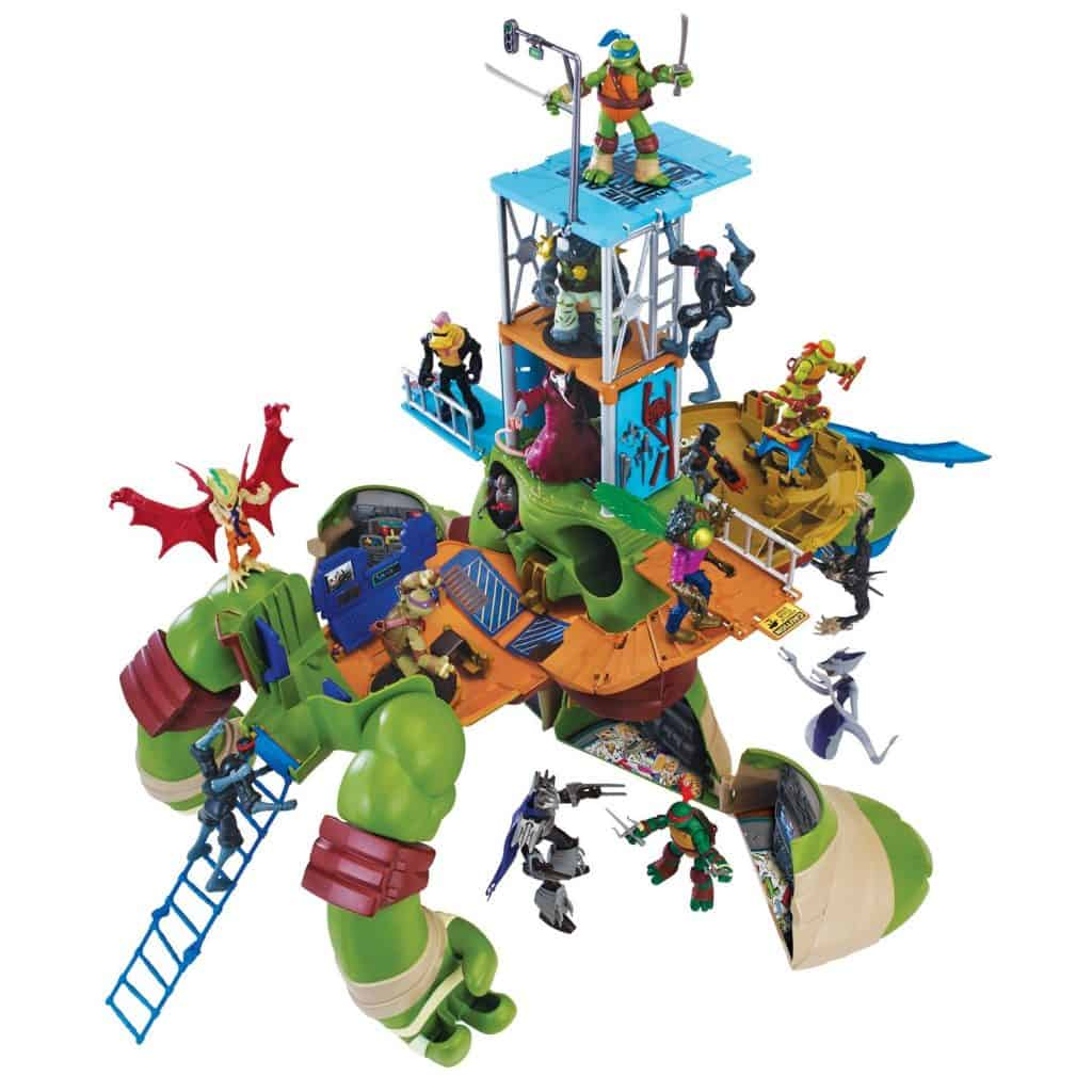 Teenage Mutant Ninja Turtles Playset Review