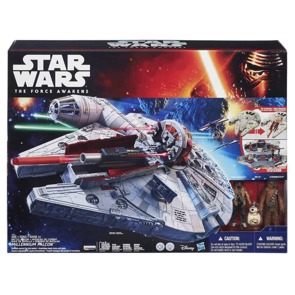 Star Wars: The Force Awakens Battle Action Millennium Falcon
