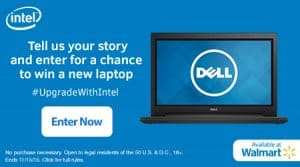 Upgrade With Intel Laptop Contest