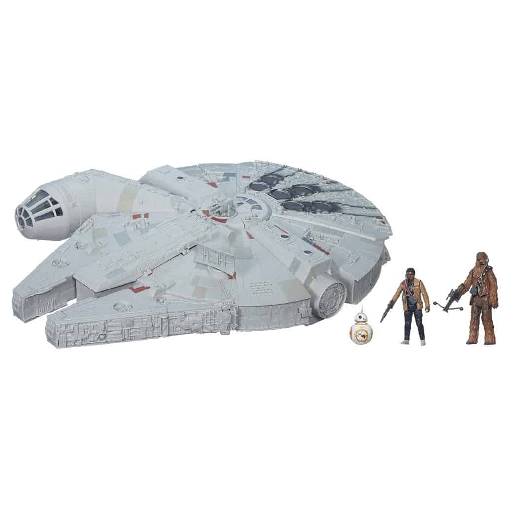 Star Wars- The Force Awakens Battle Action Millennium Falcon